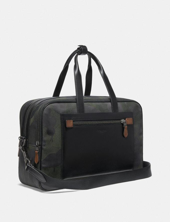 Coach Academy Travel Duffle With Wild Beast Print Military Wild Beast/Black Copper 30% off Select Full-Price Styles Alternate View 1
