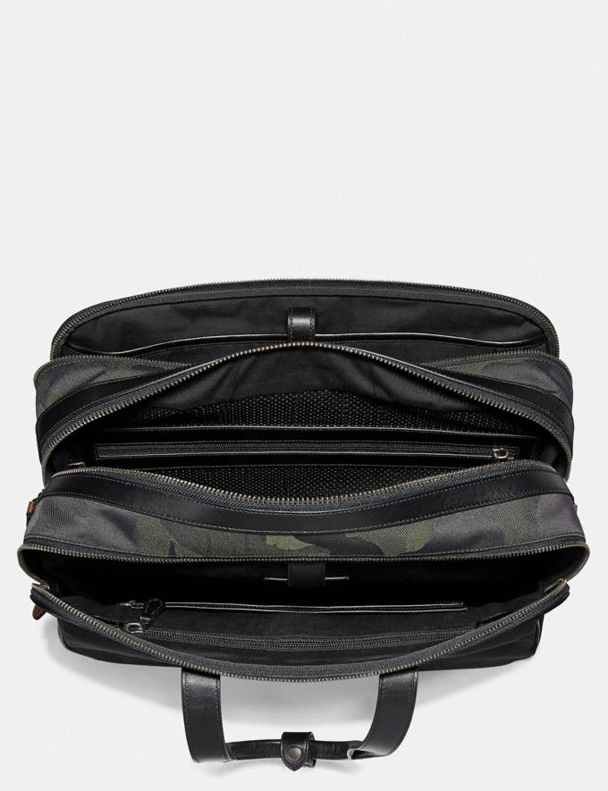 Coach Academy Travel Duffle With Wild Beast Print Military Wild Beast/Black Copper 30% off Select Full-Price Styles Alternate View 2