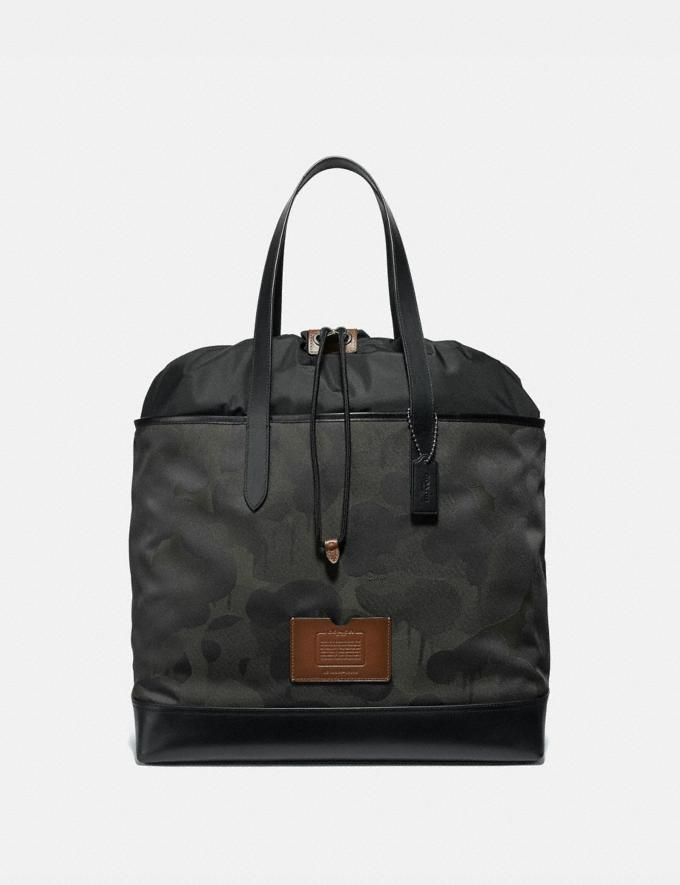 Coach Academy Travel Tote With Wild Beast Print Military Wild Beast/Black Copper Men Bags Totes & Duffles