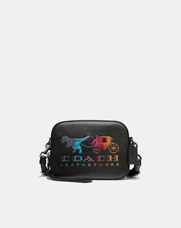 Coach CAMERA BAG WITH REXY AND CARRIAGE