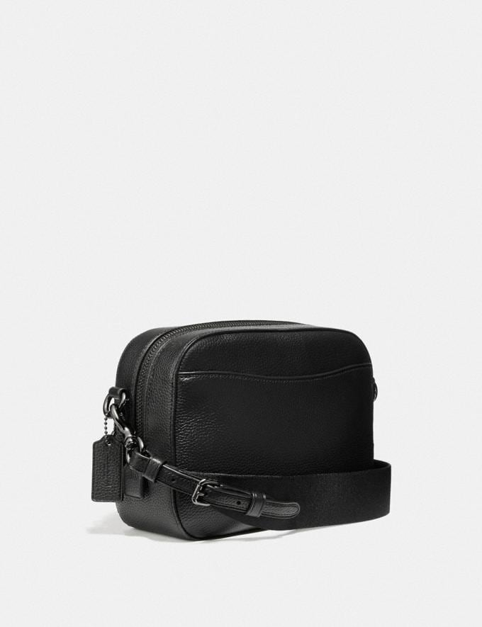 Coach Camera Bag With Rexy and Carriage Black/Gunmetal Women Bags Crossbody Bags Alternate View 1