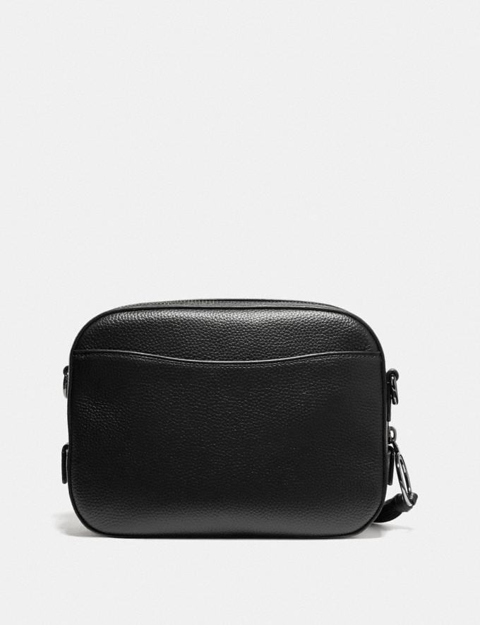 Coach Camera Bag With Rexy and Carriage Black/Gunmetal Women Bags Crossbody Bags Alternate View 2