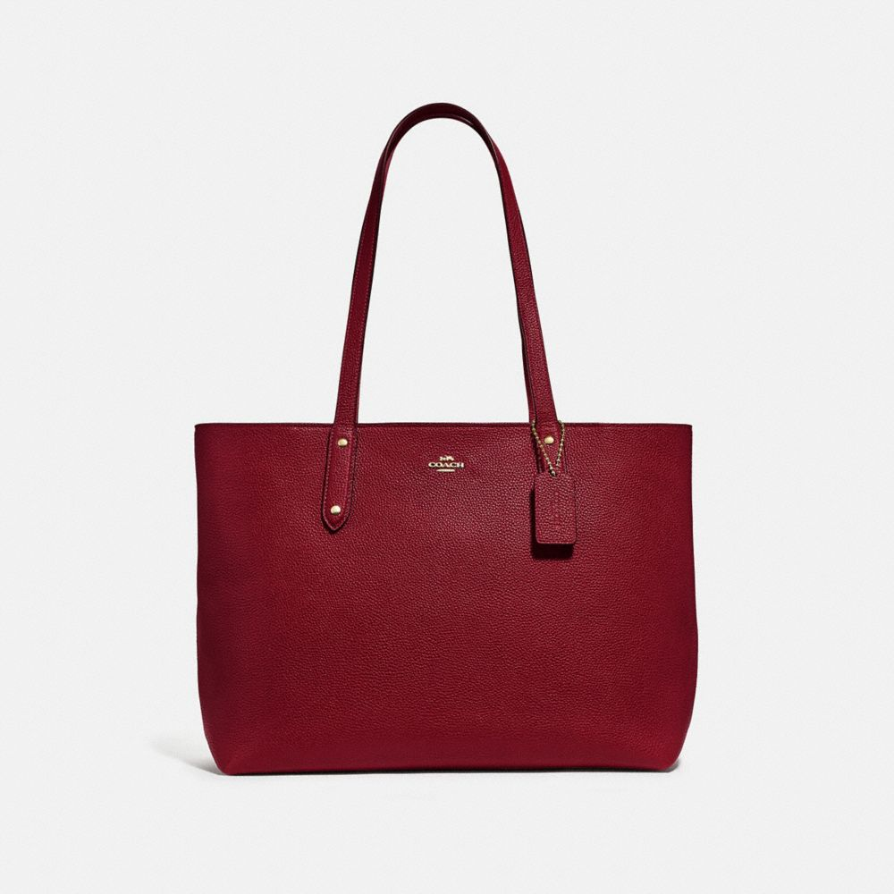 Coach Totes Central Tote With Zip