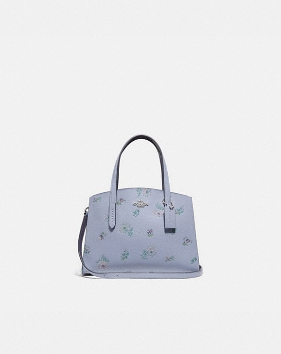 Coach CHARLIE CARRYALL 28 WITH MEADOW PRAIRIE PRINT