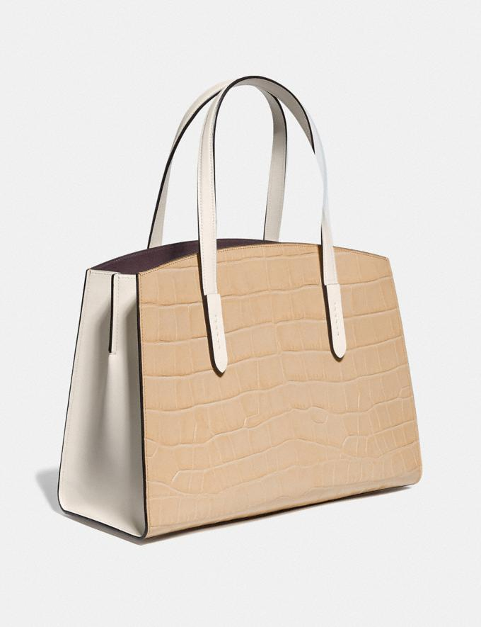 Coach Charlie Carryall Gold/Beechwood Multi New Featured Online Exclusives Alternate View 1