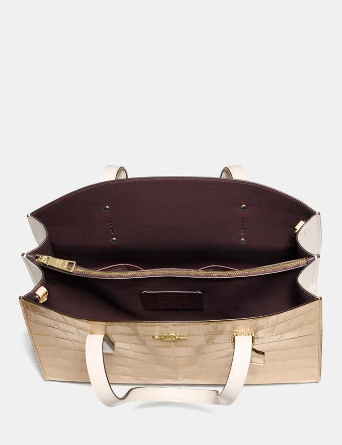Coach Charlie Carryall Gold/Beechwood Multi New Featured Online Exclusives Alternate View 2