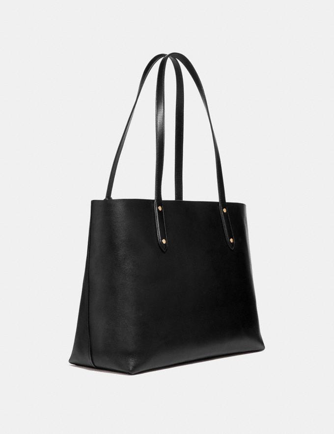 Coach Central Tote Pfirsich Hell/Gold Neu Trends für Damen Alternative Ansicht 1