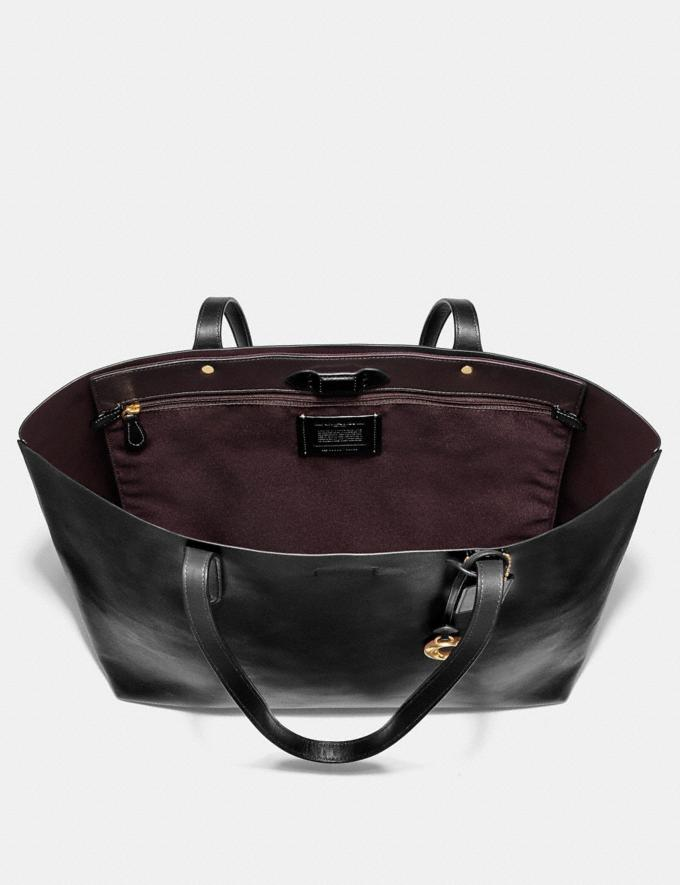 Coach Central Tote Pfirsich Hell/Gold Neu Trends für Damen Alternative Ansicht 2