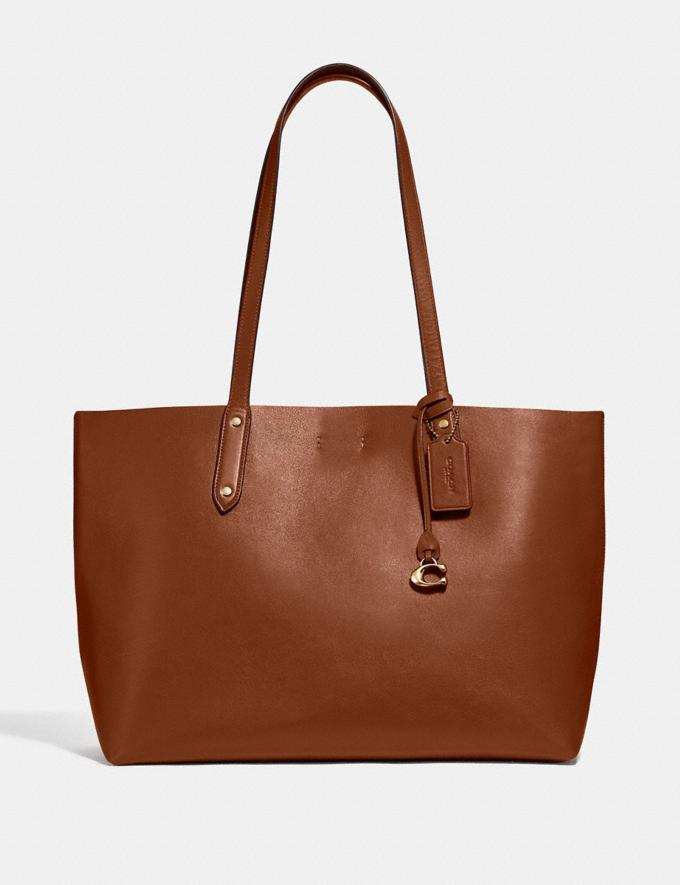 Coach Central Tote 1941 Saddle/Gold SALE Women's Sale