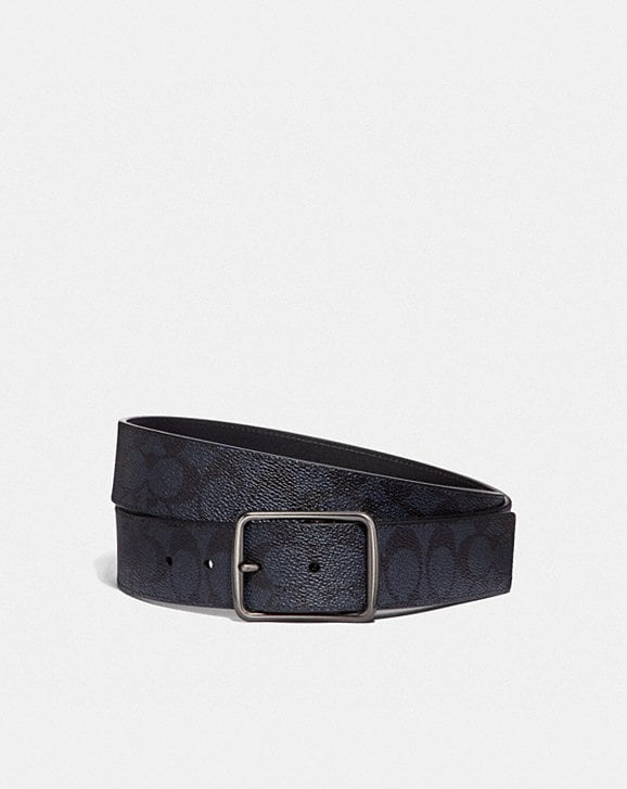 Coach CUT-TO-SIZE REVERSIBLE BELT IN SIGNATURE CANVAS