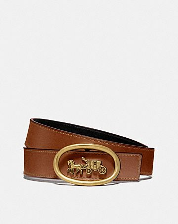 HORSE AND CARRIAGE BUCKLE BELT