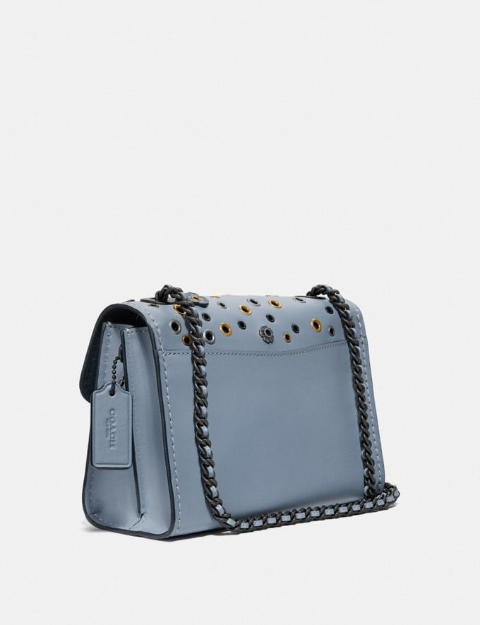 Coach Parker 18 With Scattered Rivets Pewter/Mist New Women's New Arrivals Bags Alternate View 1