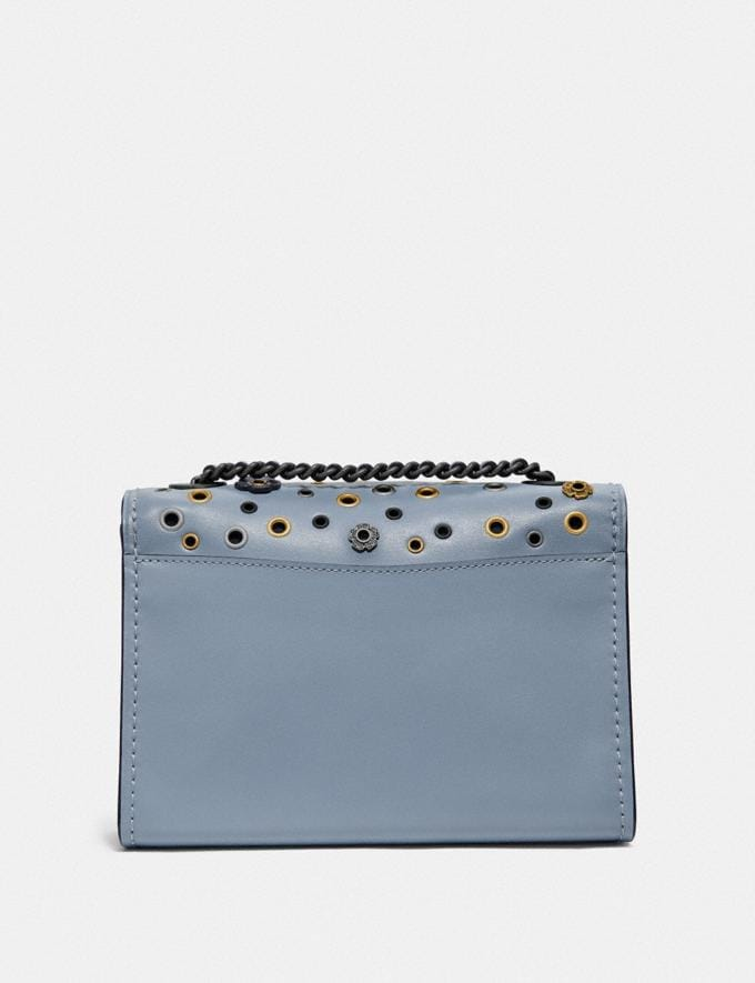 Coach Parker 18 With Scattered Rivets Pewter/Mist New Women's New Arrivals Bags Alternate View 2