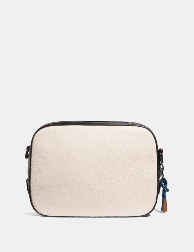 Coach Camera Bag in Signature Canvas With Coach Patch Tan/Chalk Multi/Gunmetal New Featured Online-Only Alternate View 2