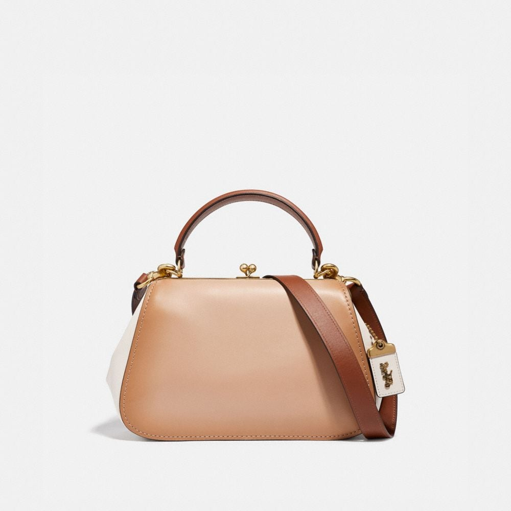 Coach Frame Bag in Colorblock