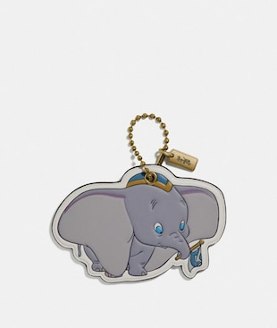 DISNEY X COACH DUMBO BAG CHARM