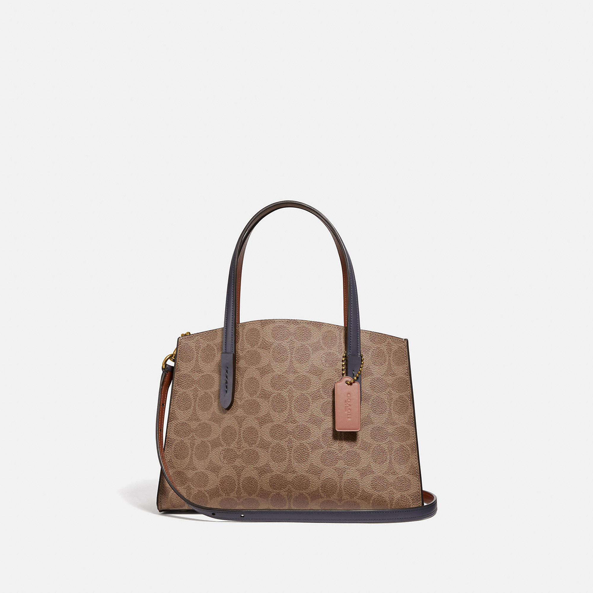 COACH COACH CHARLIE CARRYALL 28 IN SIGNATURE CANVAS - WOMEN'S