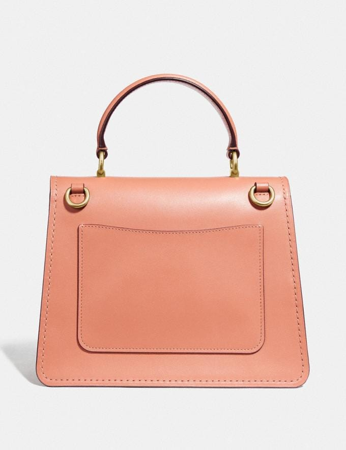 Coach Parker Top Handle With Butterfly Applique B4/Light Peach Back In Stock Back In Stock Bags Alternate View 2