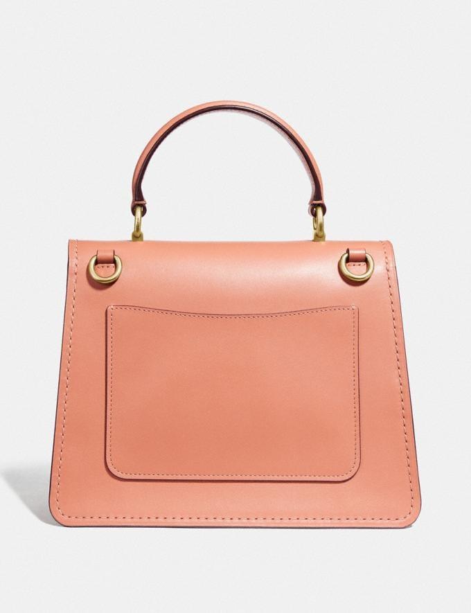 Coach Parker Top Handle With Butterfly Applique Light Peach/Brass Women Bags Satchels & Carryalls Alternate View 2