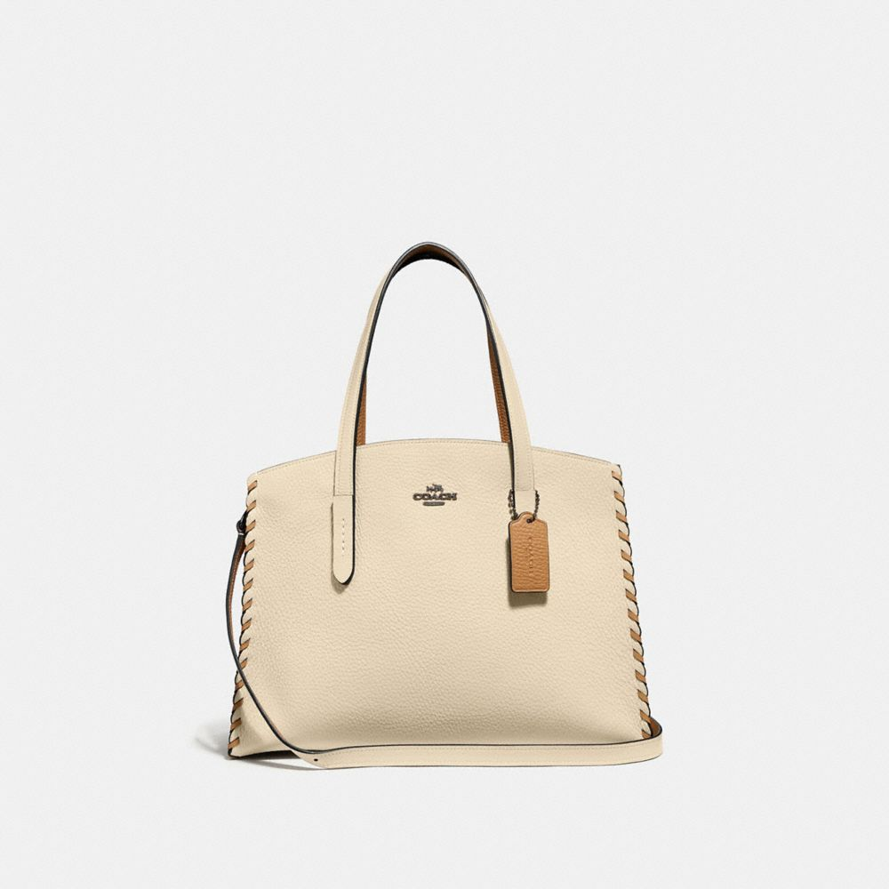 CHARLIE CARRYALL IN COLORBLOCK WITH WHIPSTITCH