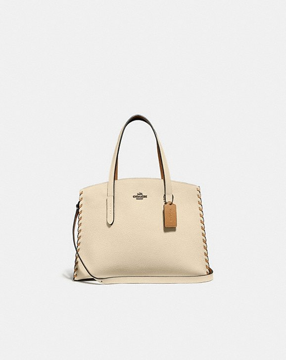 Coach CHARLIE CARRYALL IN COLORBLOCK WITH WHIPSTITCH