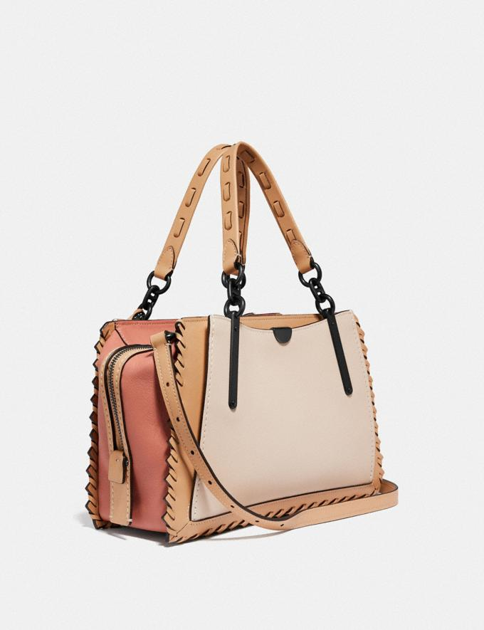 Coach Dreamer in Colorblock With Whipstitch Ivory Multi/Pewter New Featured Online Exclusives Alternate View 1