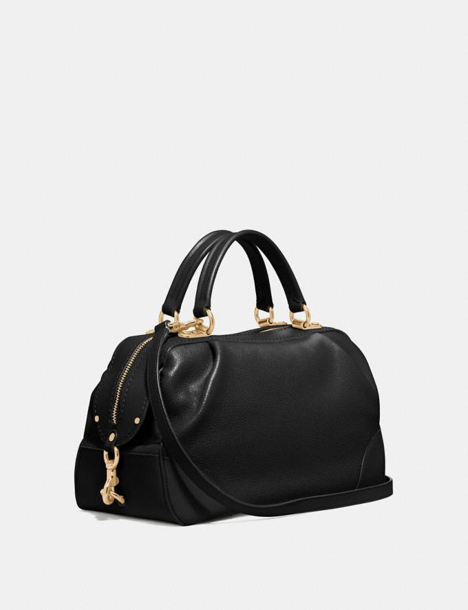 Coach Lane Satchel Black/Gold SALE Women's Sale New to Sale New to Sale Alternate View 1