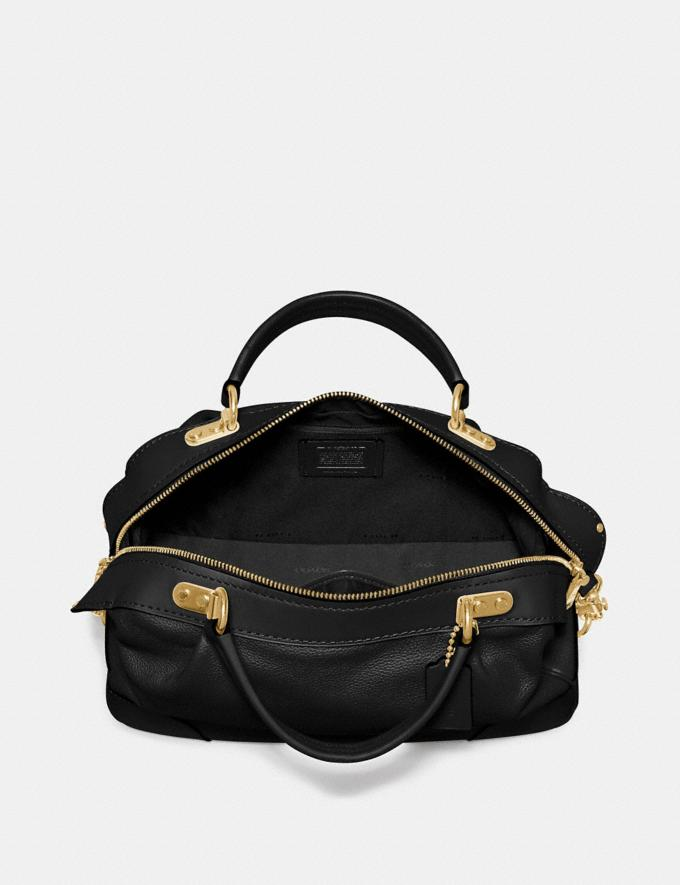 Coach Lane Satchel Black/Gold SALE Women's Sale New to Sale New to Sale Alternate View 3
