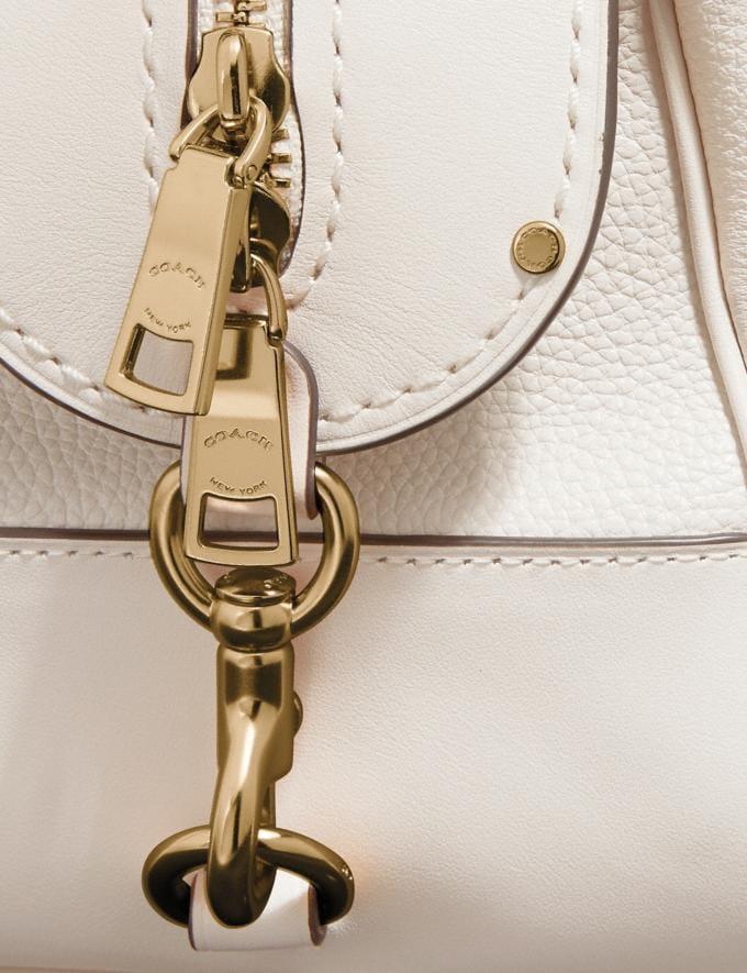 Coach Lane Satchel Chalk/Gold SALE Women's Sale New to Sale New to Sale Alternate View 5