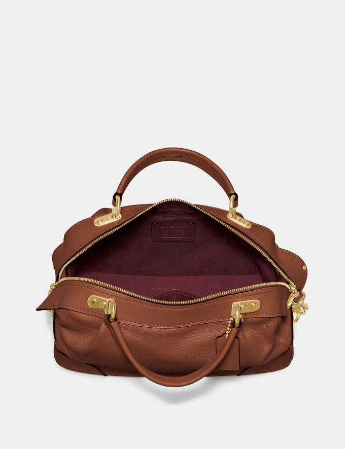 Coach Lane Satchel 1941 Saddle/Gold SALE Women's Sale Alternate View 3