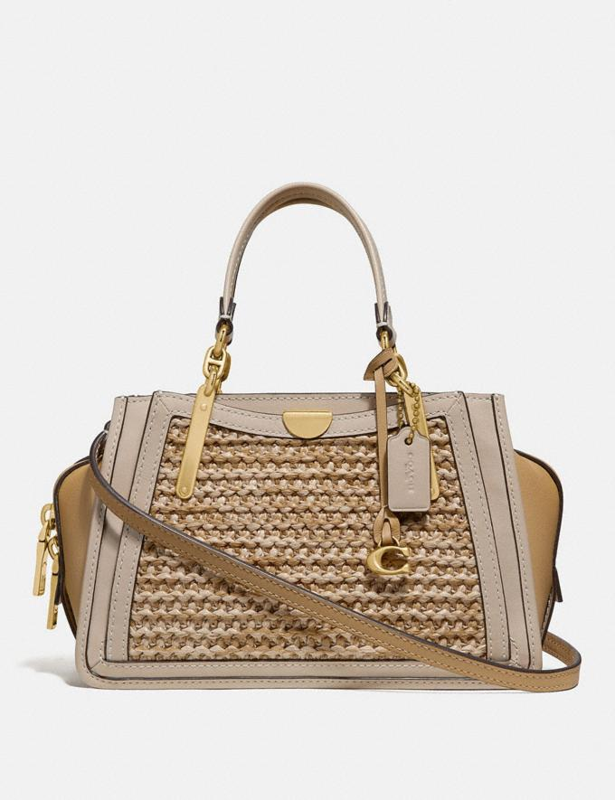 Coach Dreamer 21 in Colorblock Straw/Tan Multi/Brass Gifts For Her Bestsellers