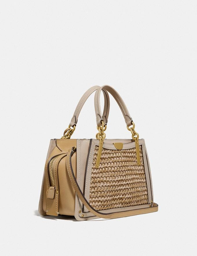 Coach Dreamer 21 in Colorblock Straw/Tan Multi/Brass Gifts For Her Bestsellers Alternate View 1