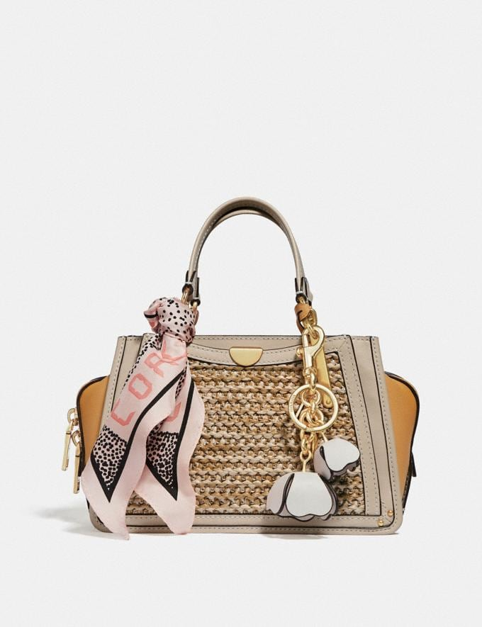 Coach Dreamer 21 in Colorblock Straw/Tan Multi/Brass Gifts For Her Bestsellers Alternate View 4