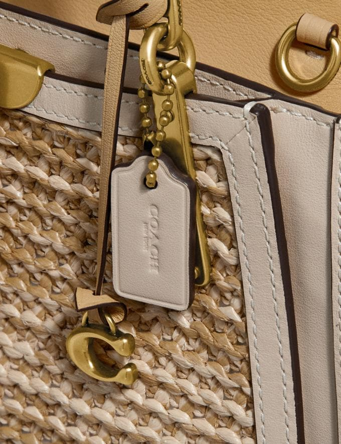 Coach Dreamer 21 in Colorblock Straw/Tan Multi/Brass Gifts For Her Bestsellers Alternate View 6