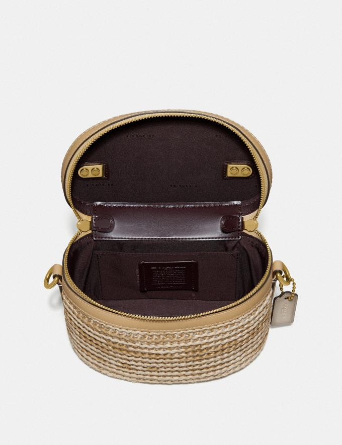Coach Trail Bag in Colorblock Straw/Tan Multi/Brass New Featured Online Exclusives Alternate View 2