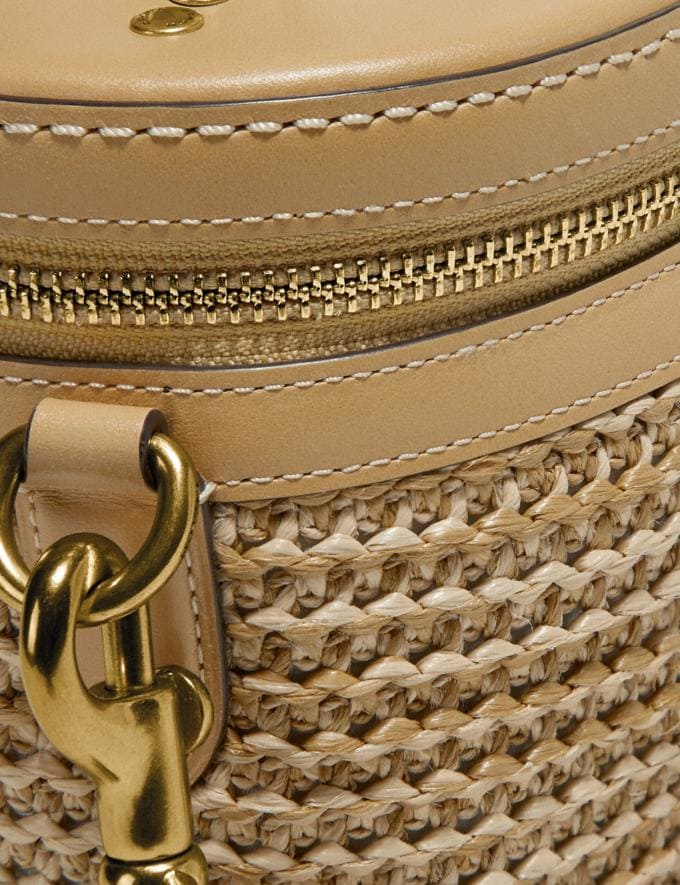Coach Trail Bag in Colorblock Straw/Tan Multi/Brass New Featured Online Exclusives Alternate View 4