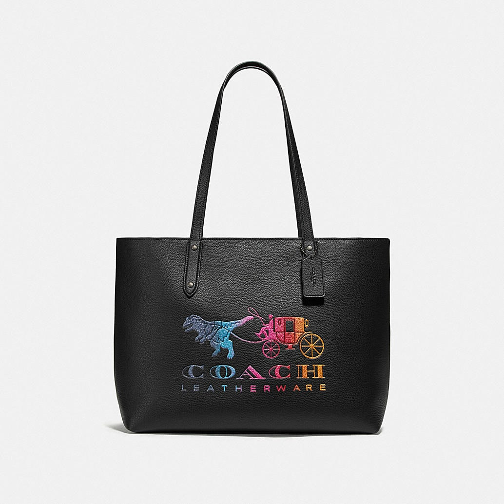 Central Tote With Zip With Rexy And Carriage by Coach