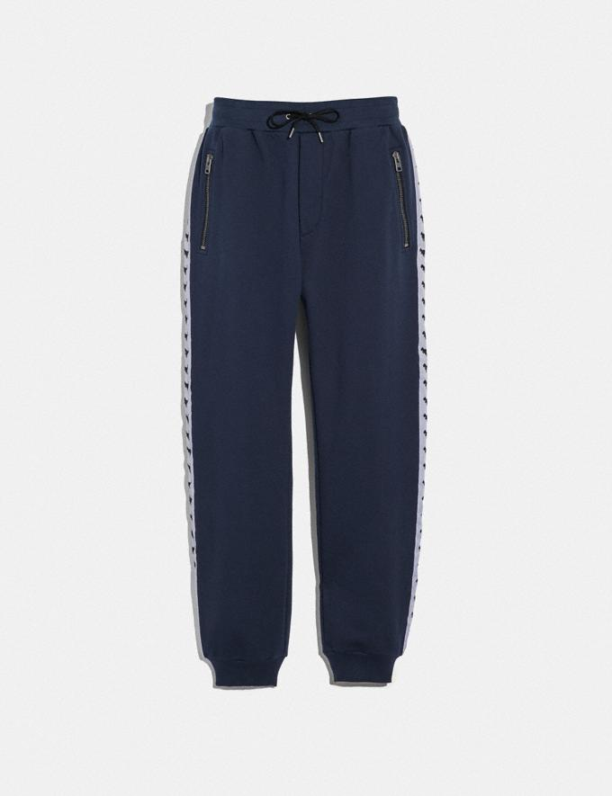 Coach Rexy Tape Sweatpants Dark Blue