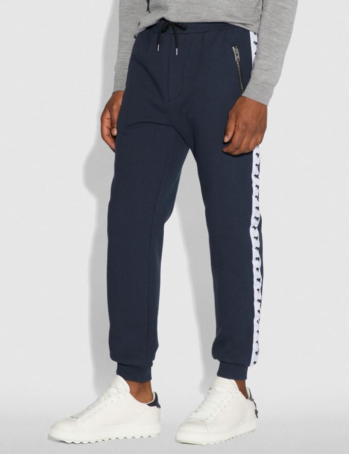 Coach Rexy Tape Sweatpants Dark Blue  Alternate View 1
