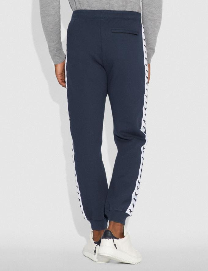 Coach Rexy Tape Sweatpants Dark Blue  Alternate View 2