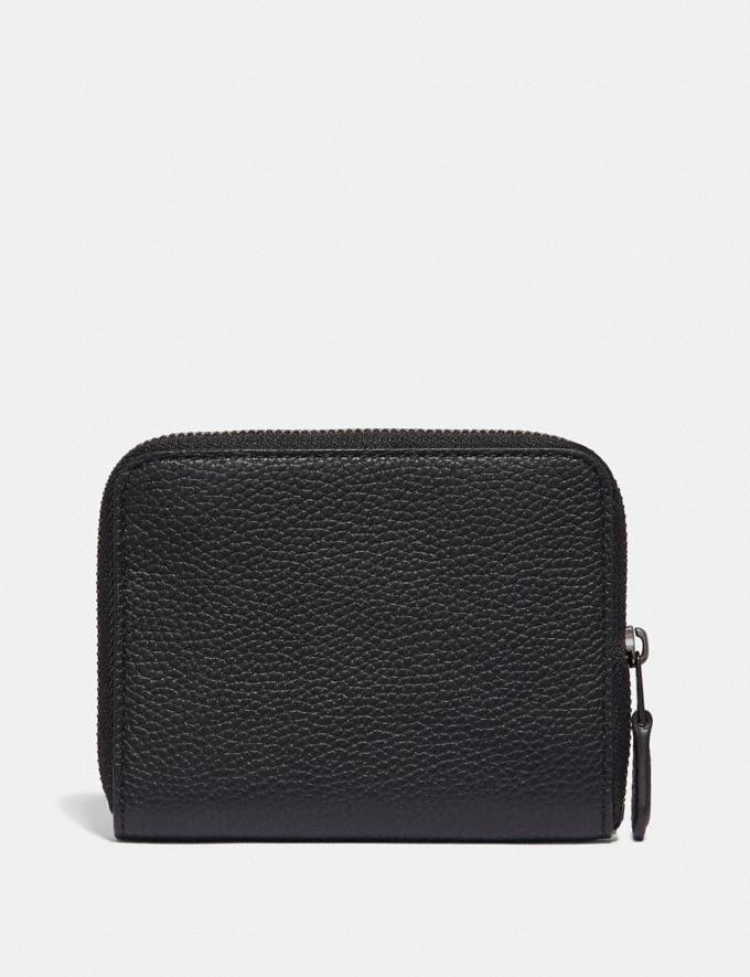 Coach Small Zip Around Wallet With Rexy and Carriage Gm/Black Multi  Alternate View 1