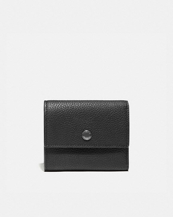 Coach TRIFOLD SNAP WALLET