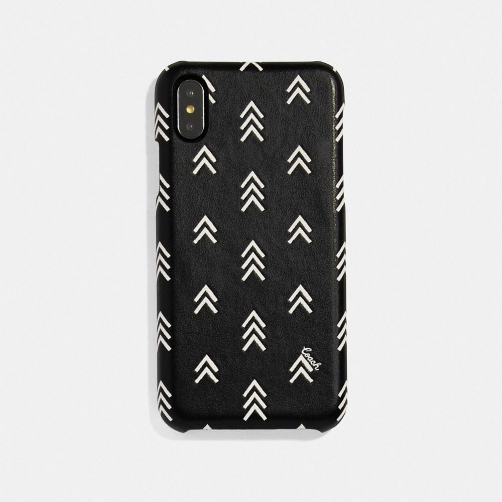iphone x/xs case with line arrow print