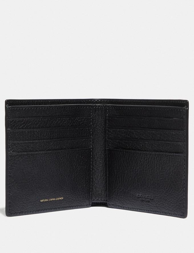 Coach Double Billfold Wallet Black  Alternate View 1