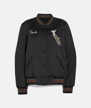 DISNEY X COACH REVERSIBLE VARSITY JACKET