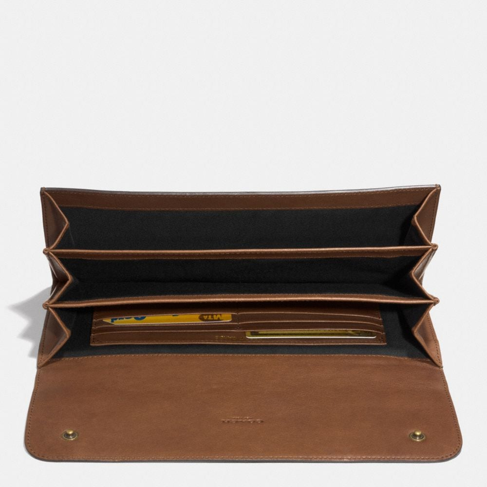 Bleecker Travel Organizer in Leather - Alternate View A1