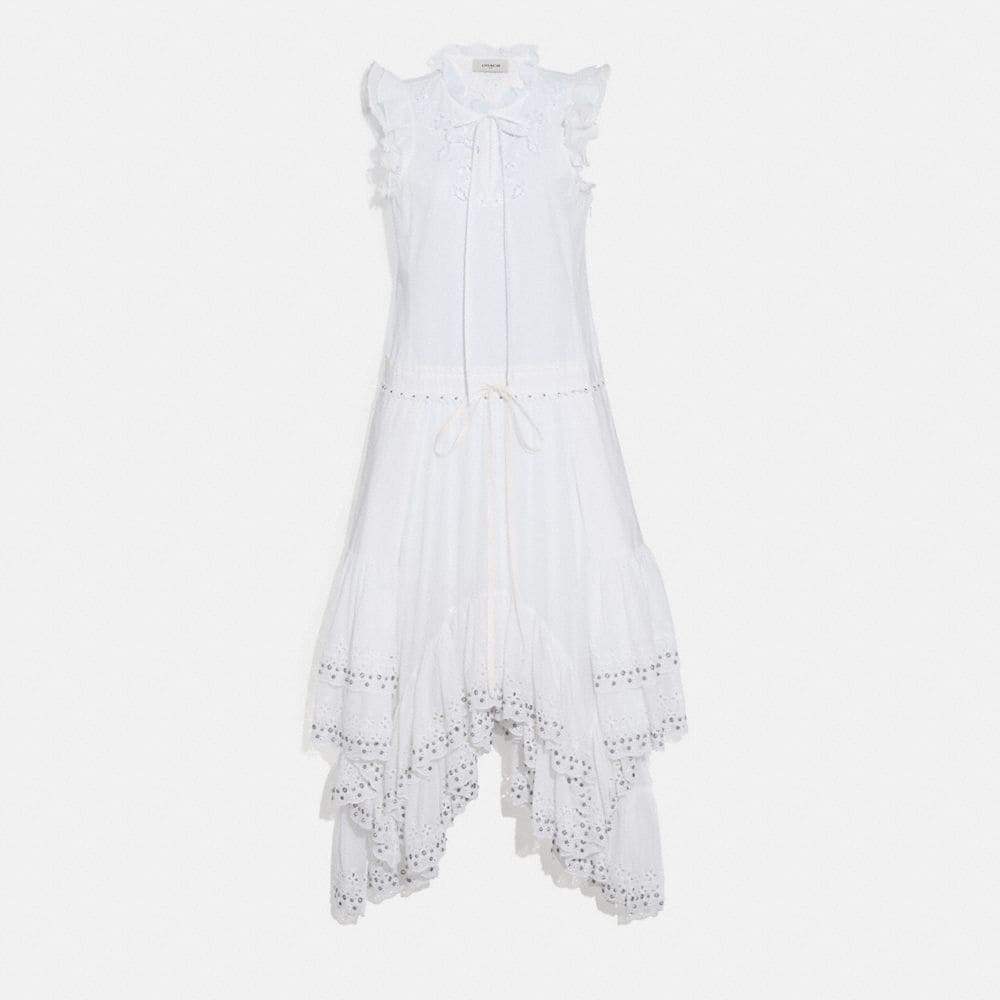 Coach Cotton Prairie Dress