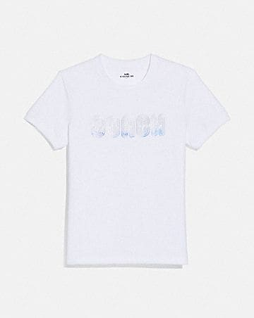 EMBROIDERED SHRUNKEN T-SHIRT