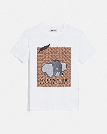 8dbaf03d519e1 DISNEY X COACH DUMBO SIGNATURE T-SHIRT ...