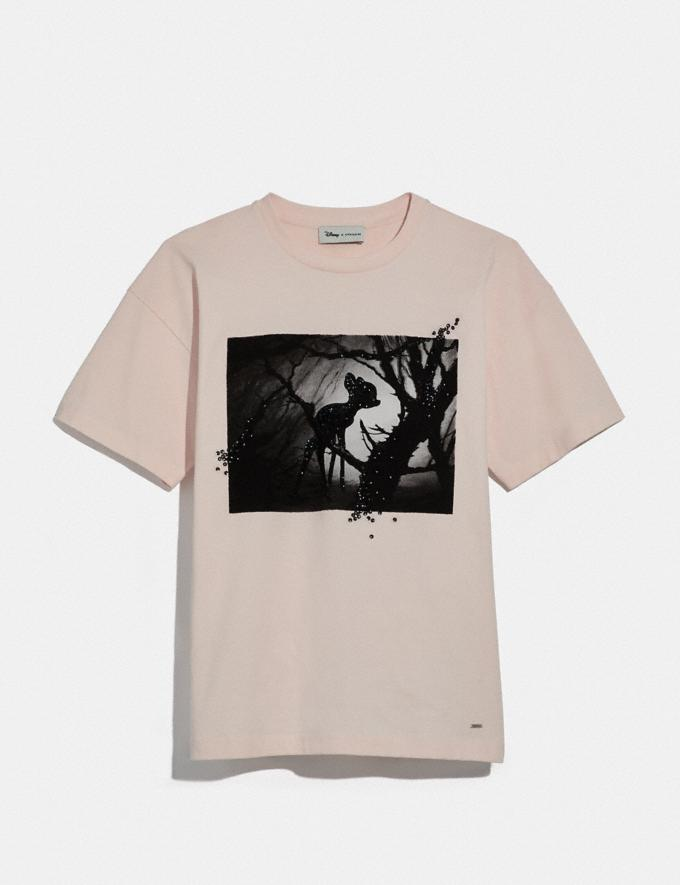 Coach Disney X Coach Bambi Oversized T-Shirt Pink DEFAULT_CATEGORY